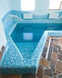 Binnenland van zwembad Stock Afbeeldingen
