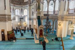 Binnenland Weinig Hagia Sophia Royalty-vrije Stock Afbeelding