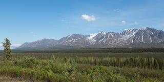 Binnenlands Alaska Stock Foto's