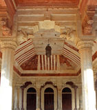 Binnenlands Amer Fort, Jaipur Stock Fotografie