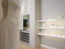 Binnenlands bruids ontwerp - Royalty-vrije Stock Foto's