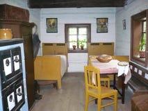 Binnenlands fromOutdoormuseum Veselý Kopec 3 Stock Fotografie