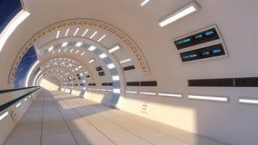 Binnenlands futuristisch ontwerpconcept Royalty-vrije Stock Afbeeldingen