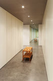 Binnenlands huis modern ontwerp, Royalty-vrije Stock Fotografie