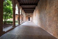 Binnenlands klooster Royalty-vrije Stock Foto's