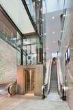 Binnenlands nieuw station Breda, Nederland Stock Afbeelding