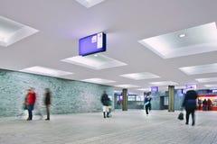 Binnenlands nieuw station Breda, Nederland Royalty-vrije Stock Foto