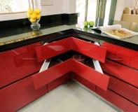 Binnenlands ontwerp - keuken royalty-vrije stock afbeeldingen