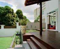 Binnenlands ontwerp - tuin Royalty-vrije Stock Foto's
