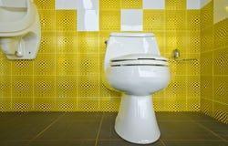 Binnenlands ontwerp van een badkamers Stock Fotografie