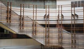 Binnenlands Ontwerp van Modern Winkelcomplex Royalty-vrije Stock Foto's