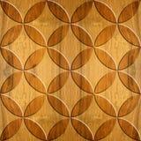 Binnenlands Ontwerpbehang die - patroon met panelen bekleden vector illustratie