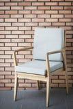 Binnenlands ontwerpdetail van retro houten meubilair Royalty-vrije Stock Foto's