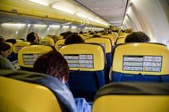 Binnenlands vliegtuig stock afbeelding