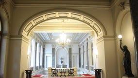 Binnenlandse architectuur bij de ingang aan de bestuurskamer Royalty-vrije Stock Afbeelding