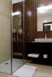 Binnenlandse badkamers Royalty-vrije Stock Foto's