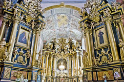 Binnenlandse Bernardine Church Royalty-vrije Stock Fotografie