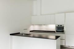 Binnenlandse, binnenlandse keuken Stock Fotografie