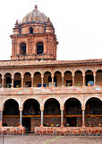 Binnenlandse binnenplaats van de Kathedraal Koricancha royalty-vrije stock afbeeldingen