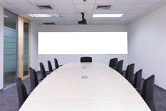 Binnenlandse conferentieruimte, vergaderzaal, bestuurskamer, Klaslokaal, van Royalty-vrije Stock Foto