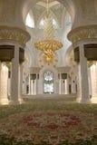 Het Binnenland van de moskee royalty-vrije stock afbeelding