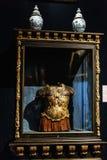 Binnenlandse details van het Kasteel van Frederiksborg in Hillerod, Denemarken royalty-vrije stock afbeeldingen