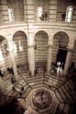 Binnenlandse Doopkapel, Pisa Royalty-vrije Stock Foto's