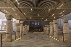 Binnenlandse franciscan van de tempel op onderstelhemel, de plaats van de zogenaamde dood van de helderziende Mozes en de plaats  Royalty-vrije Stock Foto's