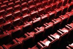 Binnenlandse geeft 3D van het Auditorium van de bioskoop terug Stock Foto's