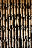 Binnenlandse houten deur (3/3) stock foto