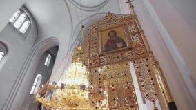 Binnenlandse Kathedraal stock video
