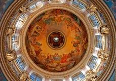 Binnenlandse kathedraal Isakiyevsky Royalty-vrije Stock Fotografie