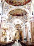 Binnenlandse kerk Royalty-vrije Stock Foto's