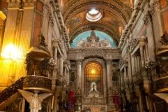 Kerk Nossa Senhora DA Candelaria in Rio de Janeiro Royalty-vrije Stock Fotografie