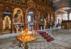 Binnenlandse Kerk van de Verrijzenis Royalty-vrije Stock Fotografie