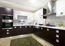 Binnenlandse Keuken Royalty-vrije Stock Afbeeldingen