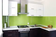 Binnenlandse Keuken Stock Afbeelding