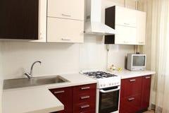 Binnenlandse Keuken Stock Foto