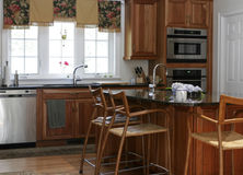 Binnenlandse keuken Stock Fotografie