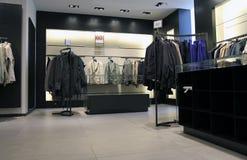 Binnenlandse kledingswinkel royalty-vrije stock afbeeldingen