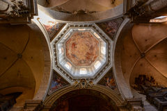 Binnenlandse Koepel van Basiliek Royalty-vrije Stock Fotografie