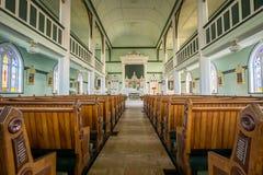 Binnenlandse landelijke kerk stock afbeeldingen