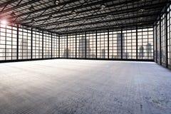 Binnenlandse lege fabriek Stock Afbeelding