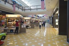 Binnenlandse mening in Alamanda Shopping Mall-putrajaya Royalty-vrije Stock Fotografie