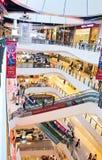 Binnenlandse mening van Centraal Plein Grote Rama 9 Royalty-vrije Stock Foto