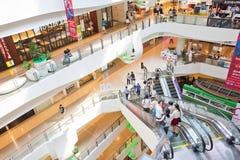 Binnenlandse mening van Centraal Plein Grote Rama 9 Stock Afbeelding