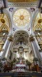 Binnenlandse mening van de Kapel van Jesus Nazareno (Parroquia DE Nues Stock Afbeelding