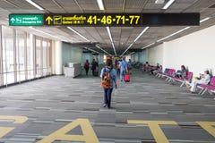 Binnenlandse mening van Don Mueang International Airport Stock Fotografie