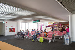 Binnenlandse mening van Don Mueang International Airport Stock Foto's