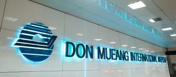Binnenlandse mening van Don Mueang International Airport Stock Afbeeldingen